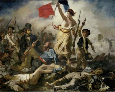 L'opera di Delacroix, un'icona per la Francia, è ora a Lens