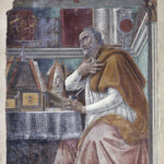 Sandro Botticelli, San Agostino nel suo studio