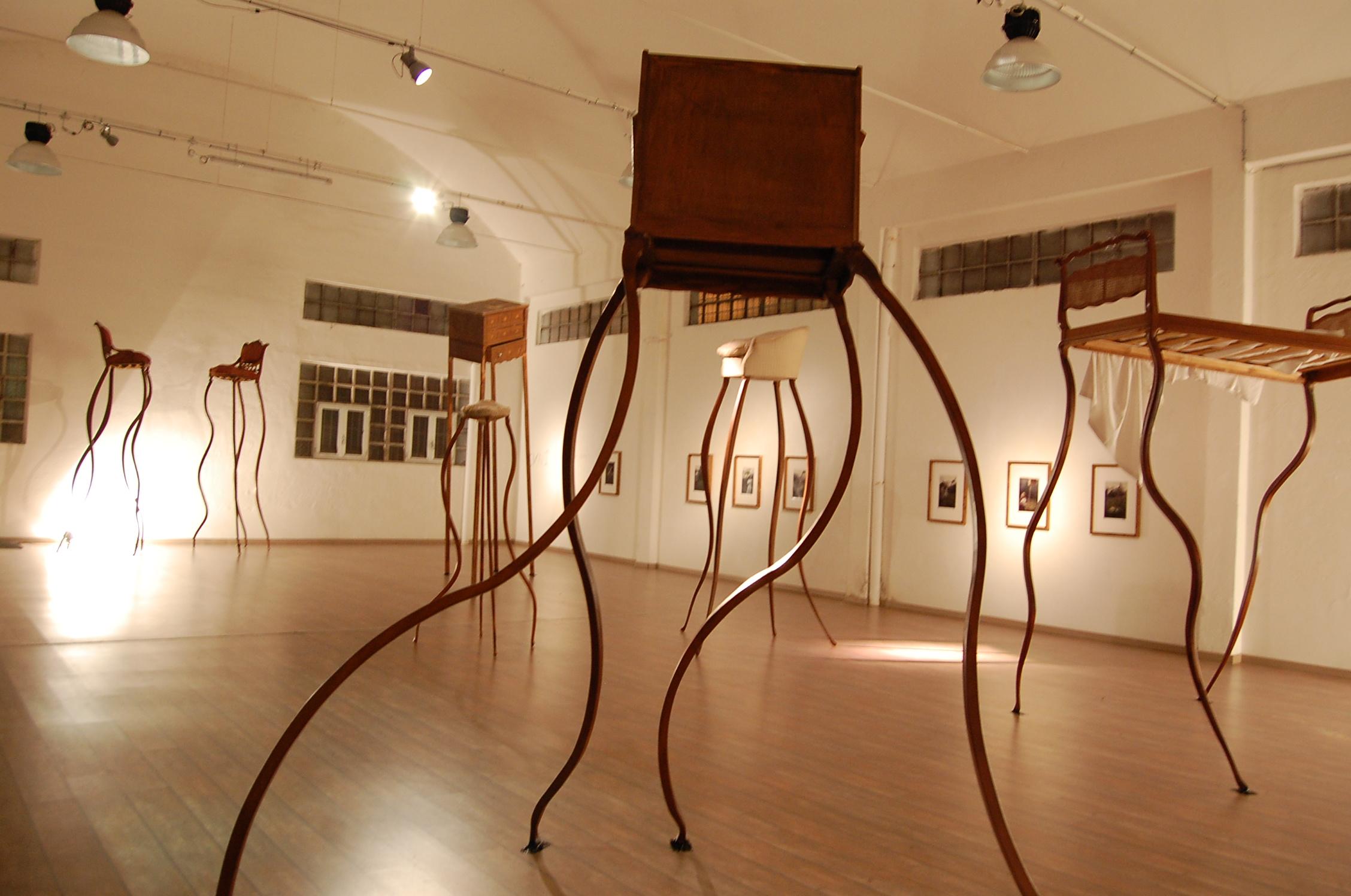 Una delle opere surrealiste di Umberto Dattola