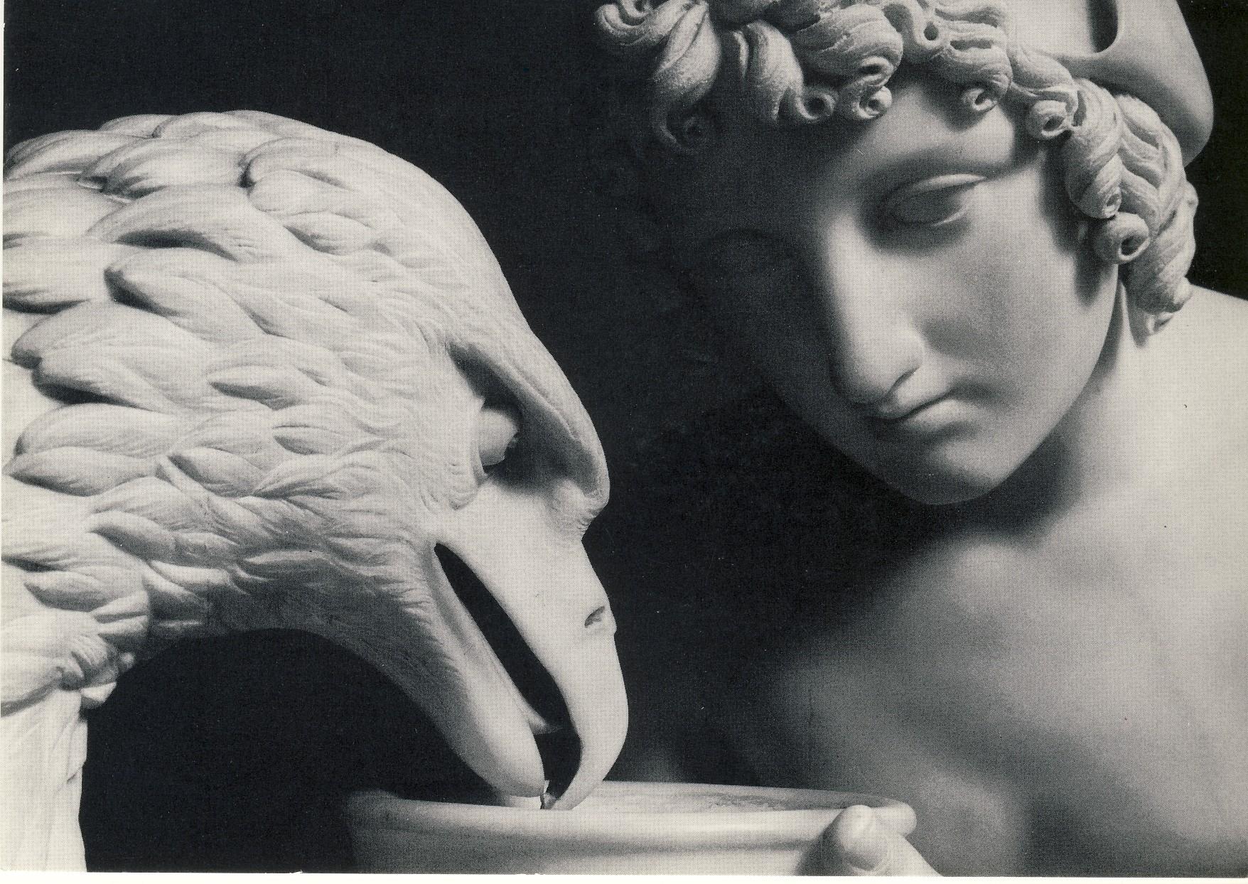 B. THORWALDSEN,Ganimede con l'aquila di Giove (part), 1817, marmo, h.93,3 cm., Copenaghen, Museo Bertel Thorwaldsen