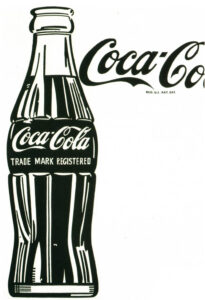Andy Warhol, Large Coca-Cola,1962