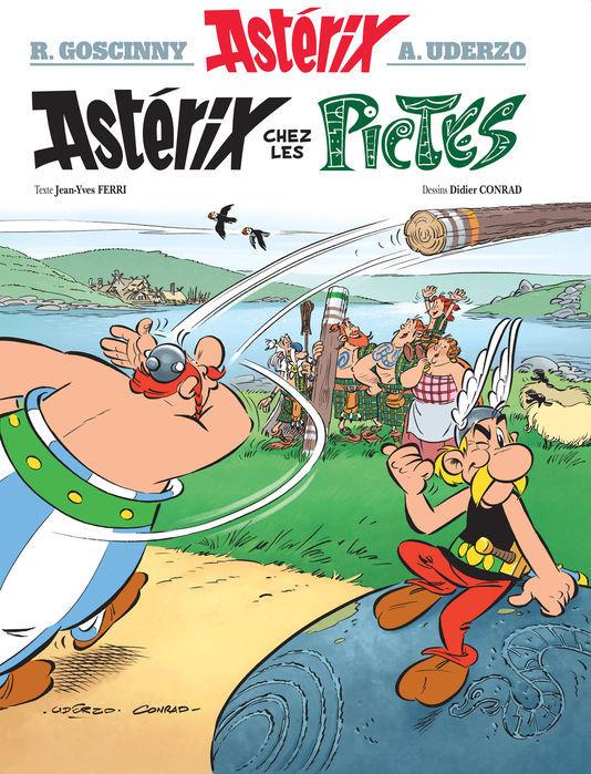 Il nuovo libro di Asterix, da oggi in libreria