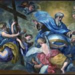 dio padre con angeli porta croce_badaracco