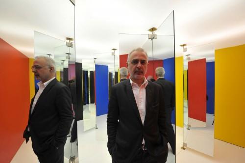 Il critico e curatore Francesco Bonami