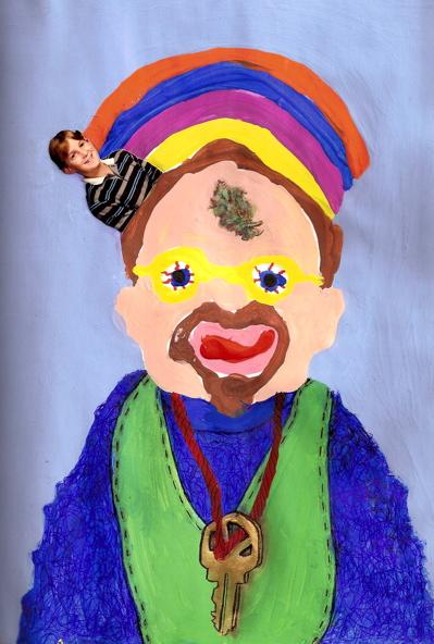 Disegno realizzato sotto effetto di Marijuana (Kine Bud)
