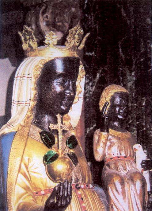 Oropa, Madonna nera