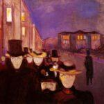 S'alza su Genova il sole malato di Munch