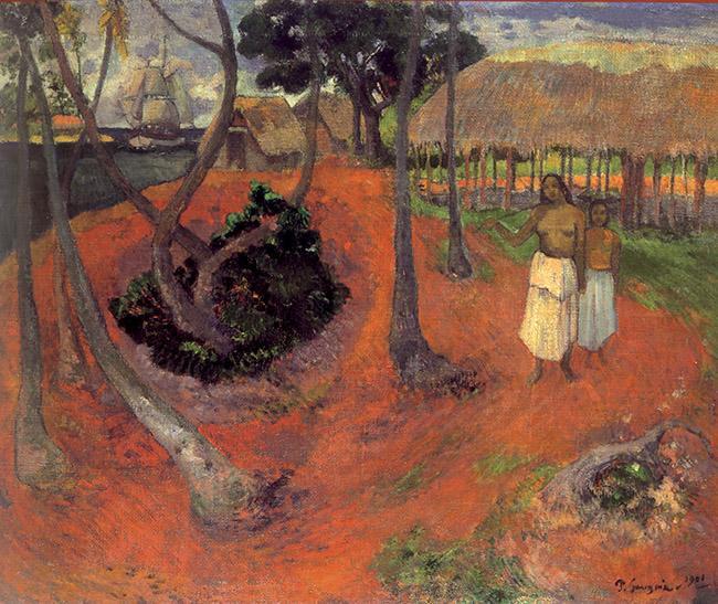 Paul Gauguin, Idillio a Tahiti
