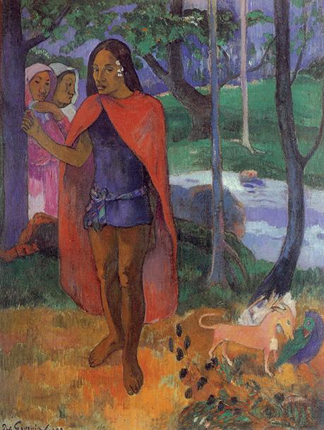 Paul Gauguin, Lo stregone di Ivahoa (L'incantatore)