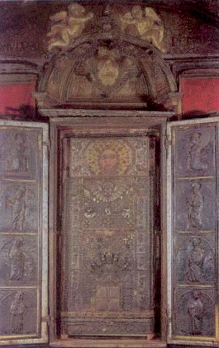 Il Redentore del Santuario della Scala Santa a Roma