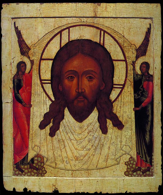 Salvatore non dipinto da mano umana, Mosca, Galleria Tret'jakov