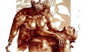 Un dipinto di Vincent Castiglia, realizzato con il sangue