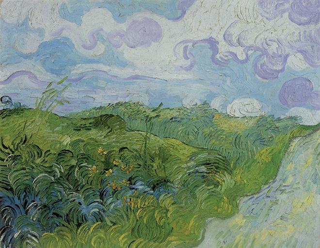 Vincent van Gogh, Campo di grano in erba