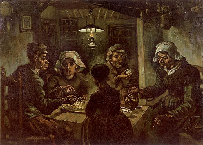 Vincent van Gogh, I mangiatori di patate