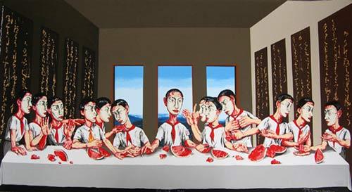 Zeng Fanzhi, L'Ultima Cena