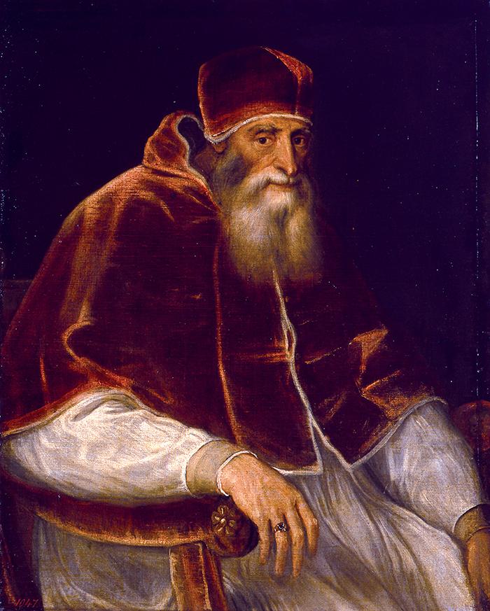 Tiziano, Ritratto di Paolo III