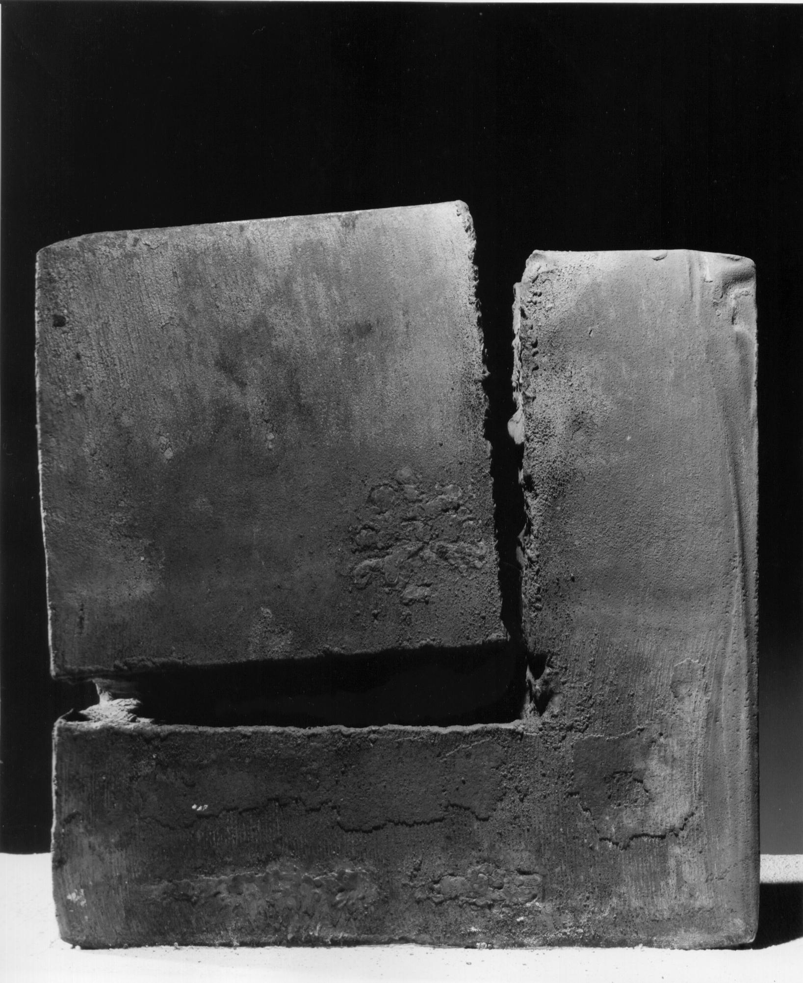 Giuseppe Spagnulo, Cuboincubo, 1992 acciaio forgiato