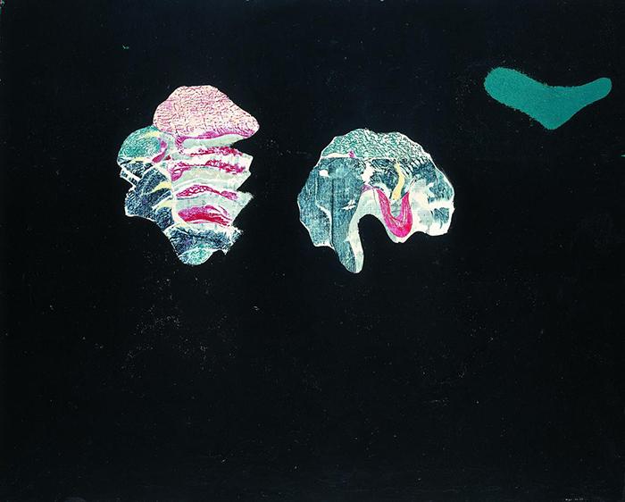 Max Ernst: Coquilles Fleurs, 1928. Olio su tela, cm 65 x 80,5