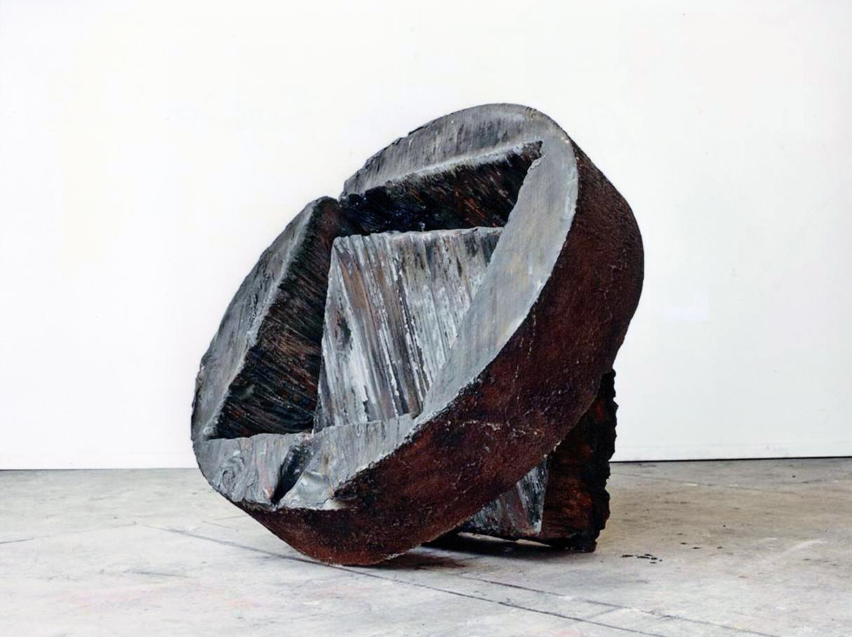 Giuseppe Spagnulo, Ruota, 2009 acciaio forgiato
