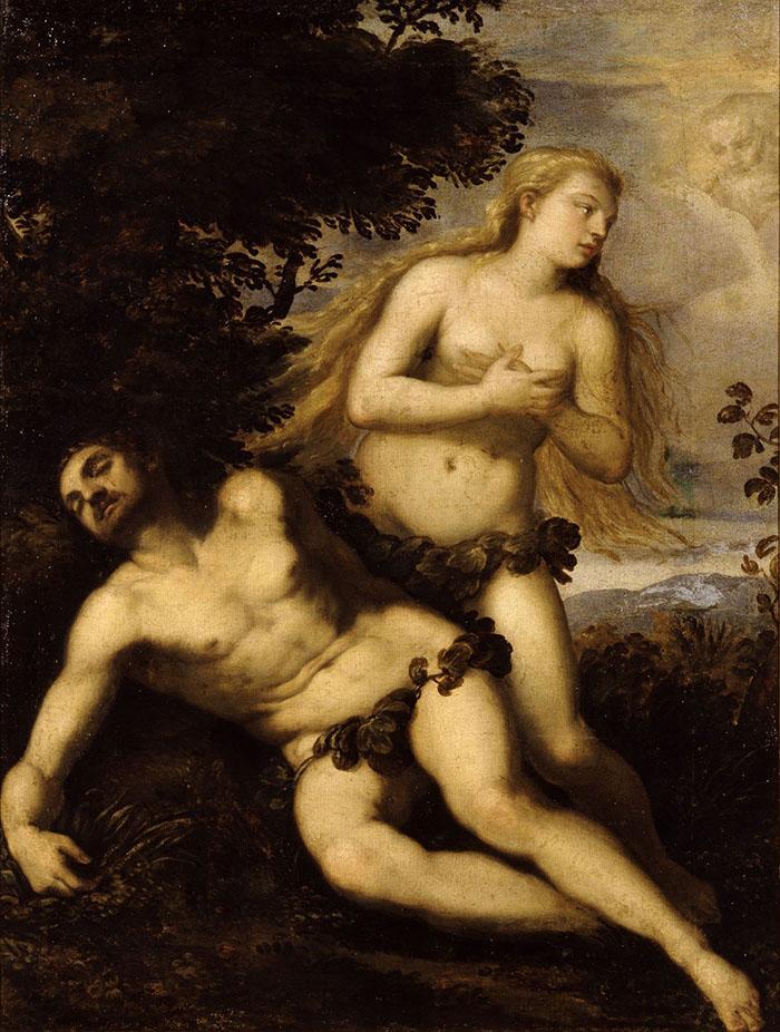 Giovanni Contarini, Nascita di Eva  © Bergamo, Accademia Carrara