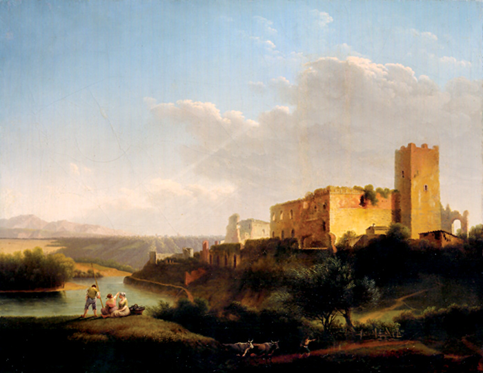 Marco Gozzi, Il castello di Trezzo