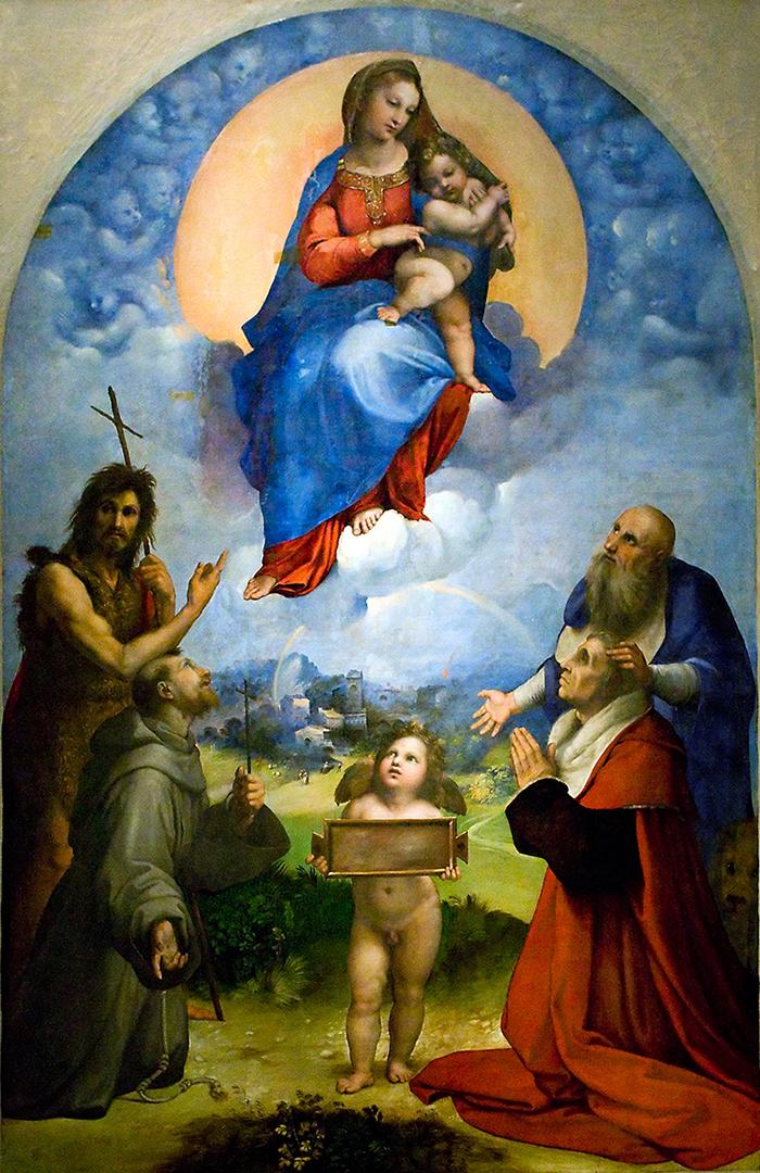 Raffaello, Madonna di Foligno