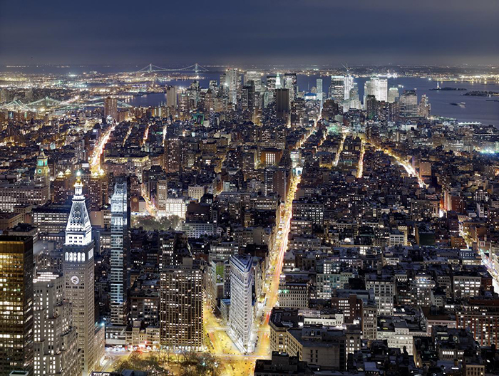 "Luca Campigotto: dalla mostra ""NIGHTSCAPES"", New York 2011 © Luca Campigotto"
