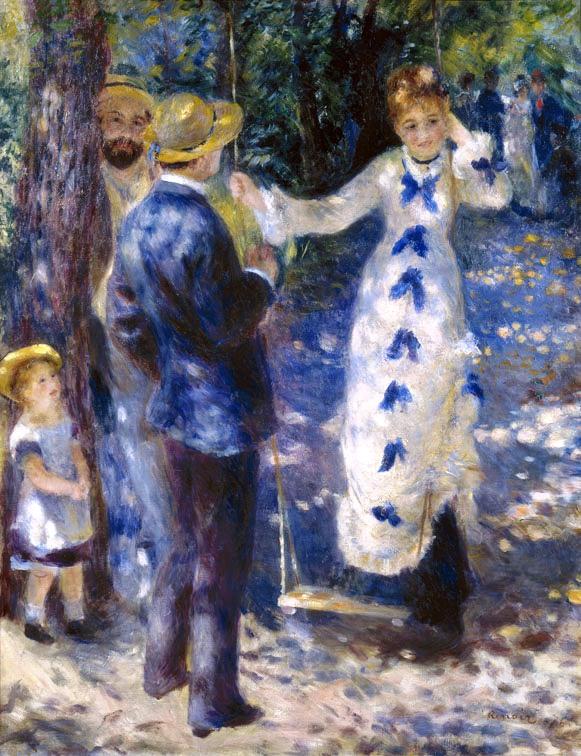 Pierre August Renoir, L'altalena