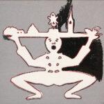 andy warhol - Hans Christian Andersen 1987 serigrafia su carta cm 101,6x101,6..