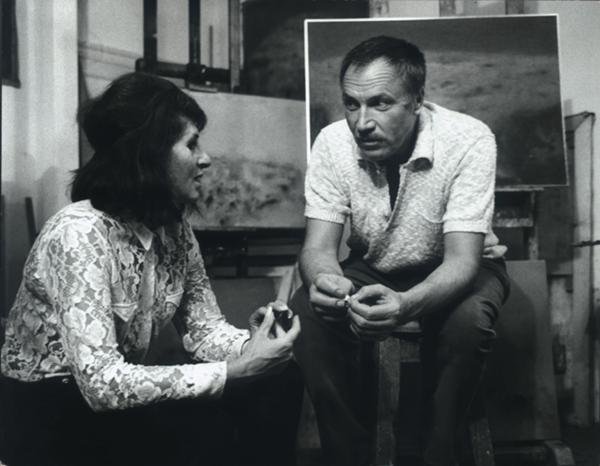 Ida e il marito Zoran Music a Venezia Anni 60 ©Gianni Berengo Gardin Ida Barbarigo