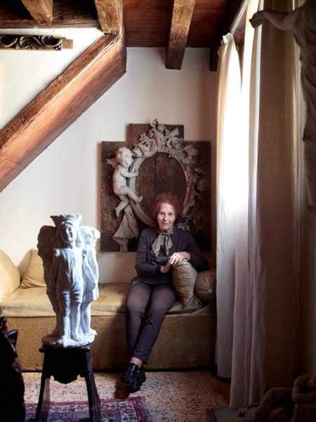 Ritratto di Ida Barbarigo Al Palazzo Balbi-Valier, 2011 © Jean-Pierre Gabriel