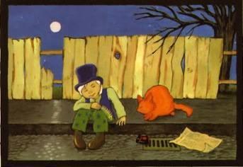Cat Stevens, illustrazione di copertina di Teaser and the Fireca