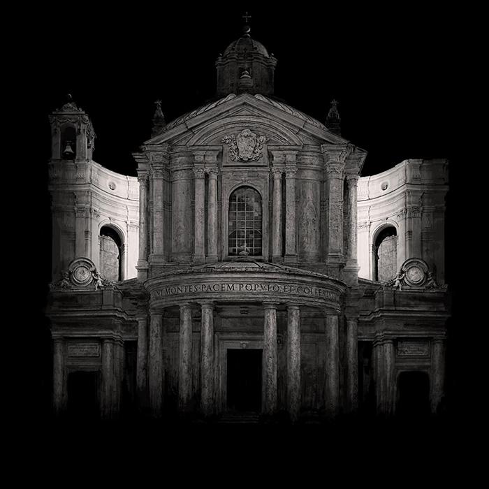"""Irene Kung: dalla mostra """"La città invisibile"""", Chiostro del Bramante 100x100cmcm press - © Irene Kung"""