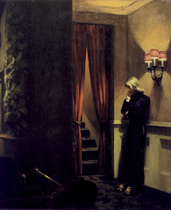 Edward Hopper, New York Movie, particolare