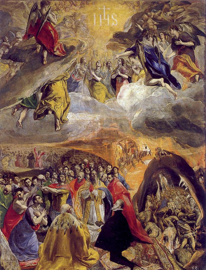 El Greco, Adorazione del Nome di Gesù