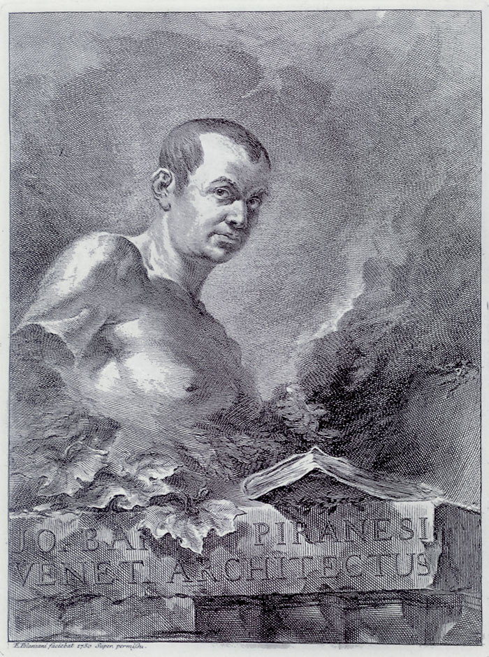 Felice Polanzani, Ritratto di Piranesi