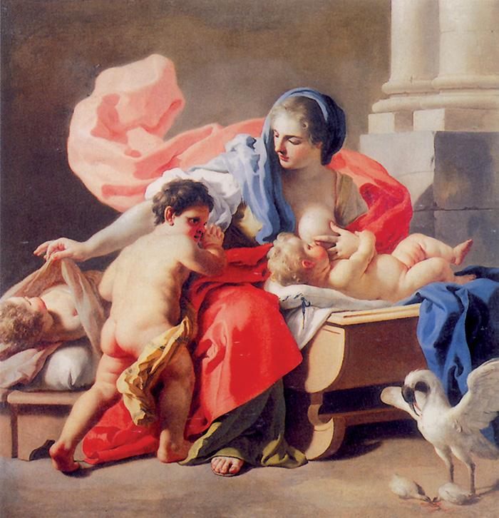 Francesco De Mura, Allegoria della carità