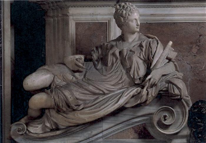 Guglielmo della Porta, Allegoria della Giustizia, dal monumento funebre a Paolo III nella Basilica di San Pietro