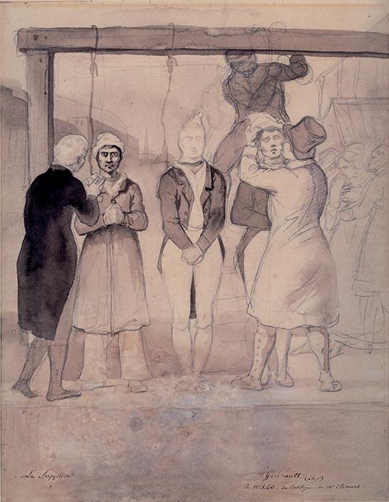 Théodore Géricault, La forca