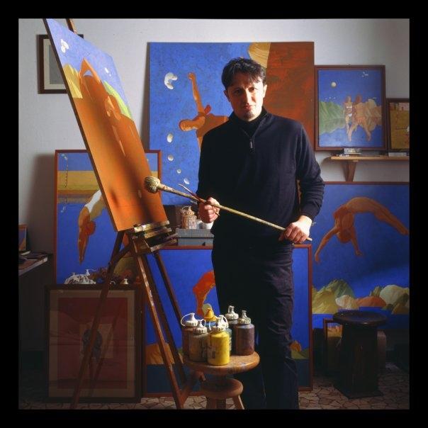 Marco Manzella nello-studio (Foto Ferdinando-Cioffi)