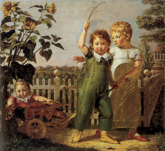 Philipp Otto Runge, I piccoli Hülsenbeck