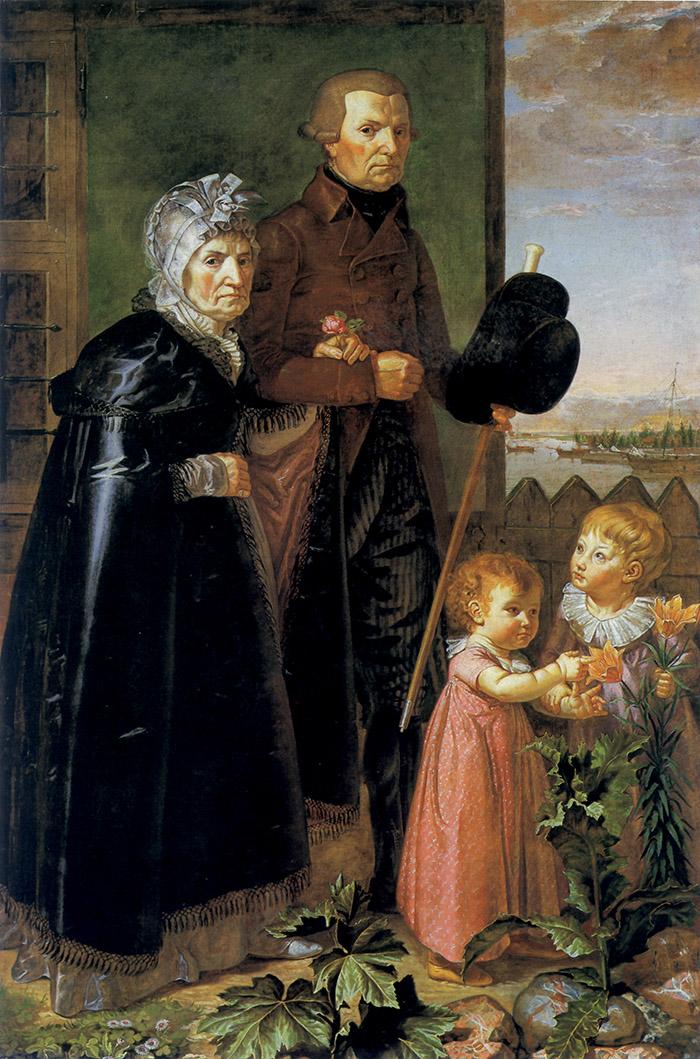 Philipp Otto Runge, I genitori dell'artista