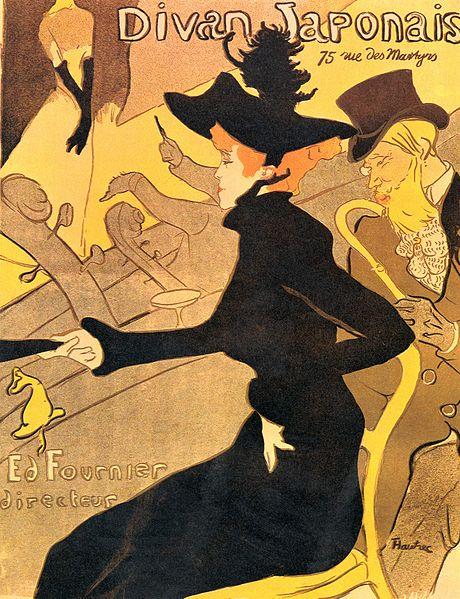 Henri de Toulouse-Lautrec, Divan Japonais, 1893