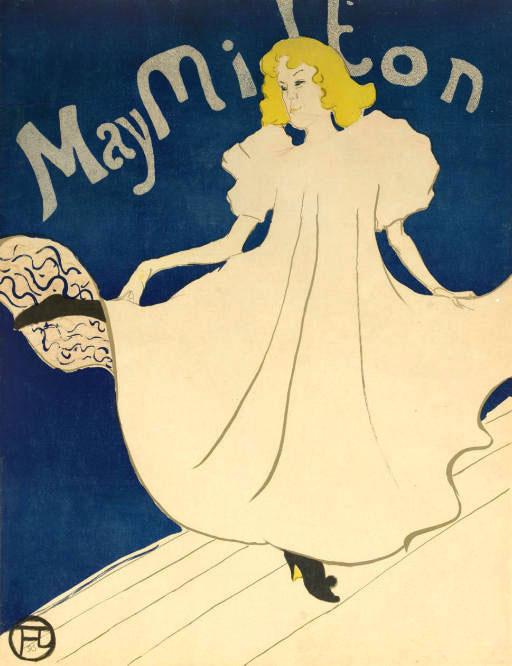 Henri de Toulouse-Lautrec, May Milton, 1895