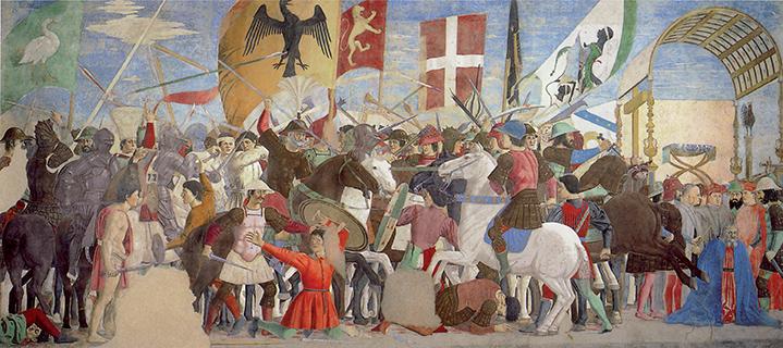 Piero della Francesca, La battaglia di Eraclio e Cosroe