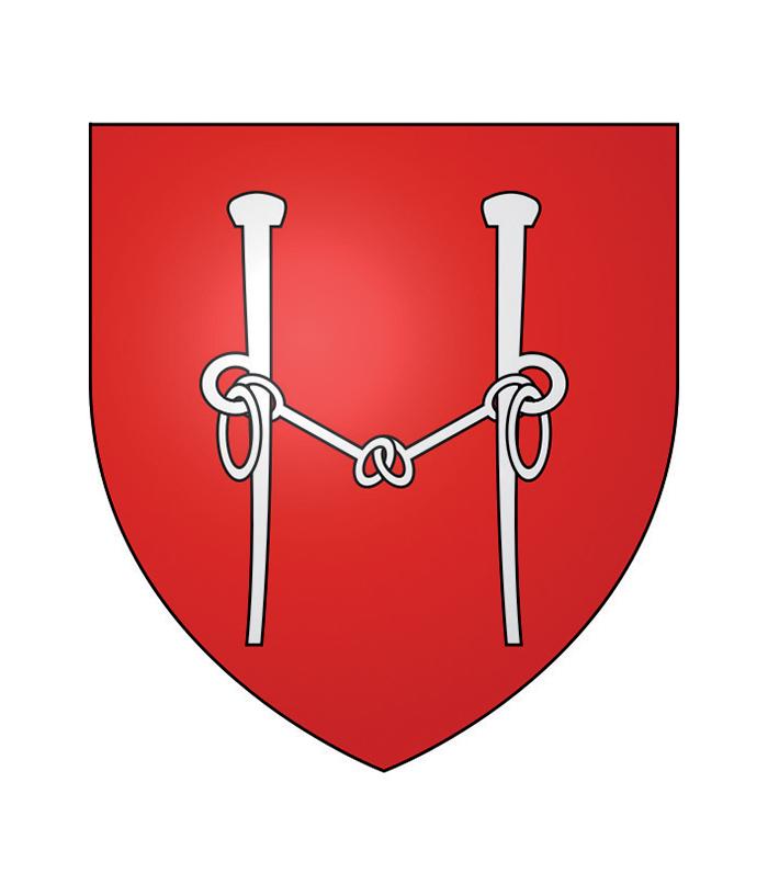 Lo stemma della città di Carpentras