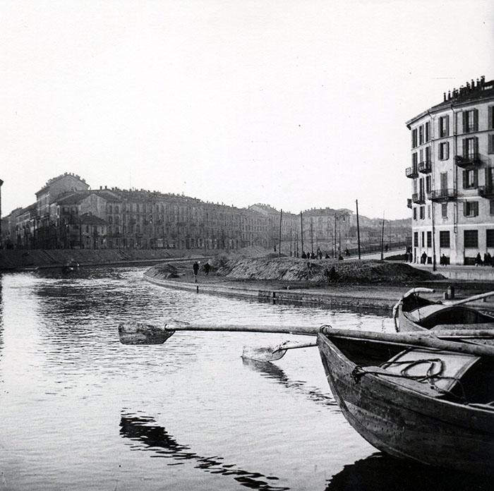 Arnaldo Chierichetti, La darsena di Porta Ticinese, © Arnaldo Chierichetti