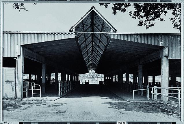 Gabriele Basilico Modena, Ex Mercato bestiame 2001 stampa alla gelatina d'argento © Gabriele Basilico Raccolta della fotografia della Galleria civica di Modena