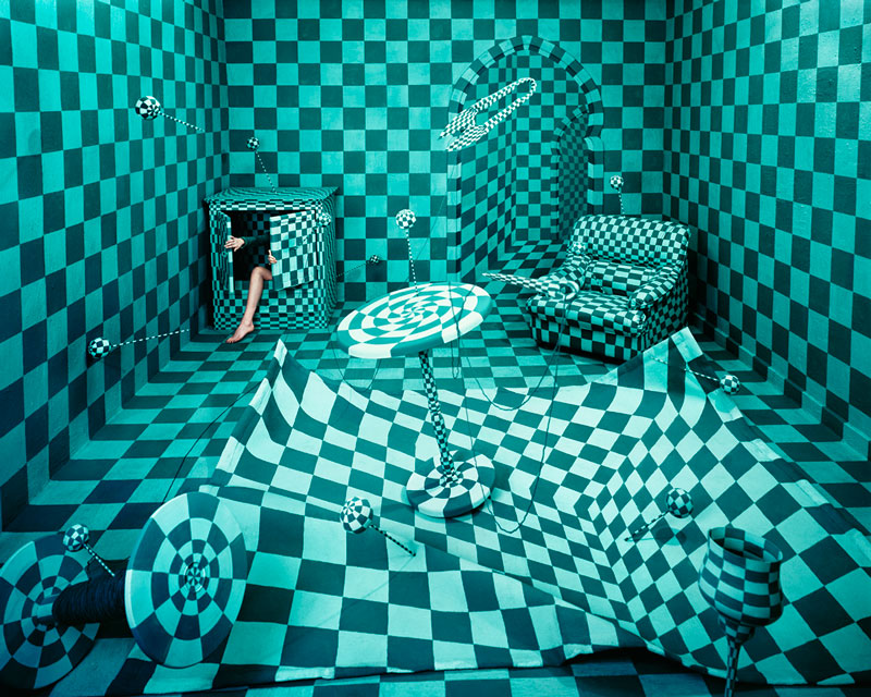 Panic Room Foto di Jee Young Lee, Courtesy Opiom Gallery