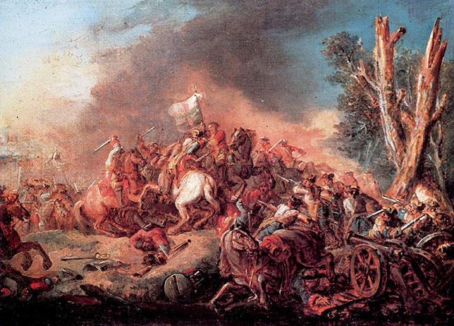 Francesco Casanova, Scena di battaglia